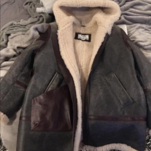 Acne Jackets   Coats   Studios Shearling Coat 48   Poshmark 603a271a06a